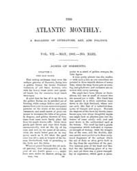The Atlantic Monthly : Volume 0007, Issu... by Atlantic Monthly Co.