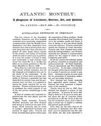 The Atlantic Monthly : Volume 0083, Issu... by Atlantic Monthly Co.