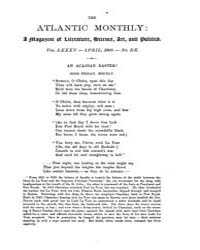 The Atlantic Monthly : Volume 0085, Issu... by Atlantic Monthly Co.