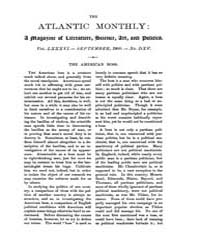 The Atlantic Monthly : Volume 0086, Issu... by Atlantic Monthly Co.