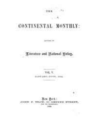 The Continental Monthly : Devoted to Lit... by J.R. Gilmore