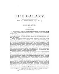 The Galaxy : Volume 0010, Issue 3 Septem... by Sheldon and Company
