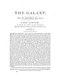 The Galaxy : Volume 0010, Issue 6 Decemb... by Sheldon and Company