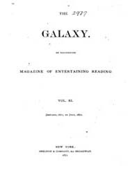 The Galaxy : Volume 0011, Issue 1 Januar... by Sheldon and Company