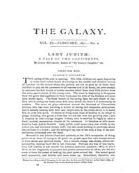 The Galaxy : Volume 0011, Issue 2 Februa... by Sheldon and Company