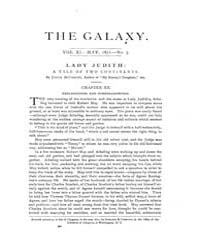 The Galaxy : Volume 0011, Issue 5 May 18... by Sheldon and Company