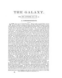 The Galaxy : Volume 0012, Issue 4 Octobe... by Sheldon and Company