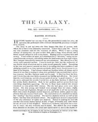 The Galaxy : Volume 0012, Issue 5 Novemb... by Sheldon and Company