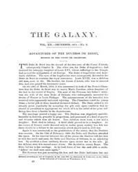 The Galaxy : Volume 0012, Issue 6 Decemb... by Sheldon and Company