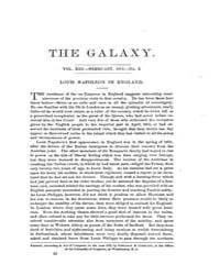 The Galaxy : Volume 0013, Issue 2 Februa... by Sheldon and Company