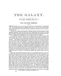 The Galaxy : Volume 0013, Issue 3 March ... by Sheldon and Company