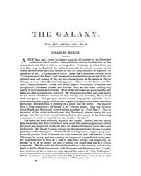 The Galaxy : Volume 0013, Issue 4 April ... by Sheldon and Company