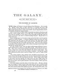 The Galaxy : Volume 0013, Issue 5 May 18... by Sheldon and Company