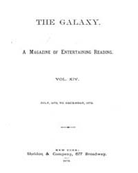 The Galaxy : Volume 0014, Issue 1 July 1... by Sheldon and Company