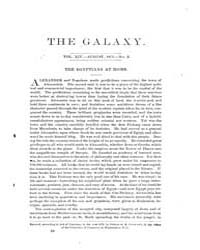 The Galaxy : Volume 0014, Issue 2 August... by Sheldon and Company