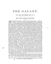 The Galaxy : Volume 0014, Issue 3 Septem... by Sheldon and Company