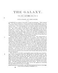The Galaxy : Volume 0014, Issue 4 Octobe... by Sheldon and Company