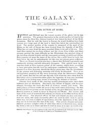 The Galaxy : Volume 0014, Issue 5 Novemb... by Sheldon and Company