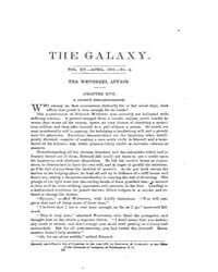 The Galaxy : Volume 0015, Issue 4 April ... by Sheldon and Company