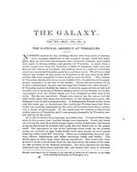 The Galaxy : Volume 0015, Issue 5 May 18... by Sheldon and Company