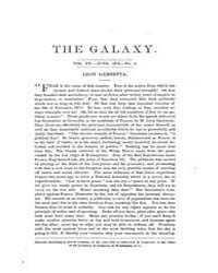 The Galaxy : Volume 0015, Issue 6 June 1... by Sheldon and Company