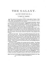 The Galaxy : Volume 0016, Issue 2 August... by Sheldon and Company