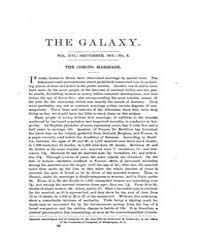 The Galaxy : Volume 0016, Issue 3 Septem... by Sheldon and Company