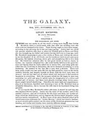 The Galaxy : Volume 0016, Issue 5 Novemb... by Sheldon and Company