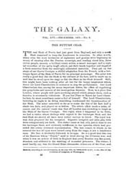The Galaxy : Volume 0016, Issue 6 Decemb... by Sheldon and Company