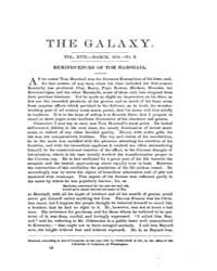 The Galaxy : Volume 0017, Issue 3 March ... by Sheldon and Company