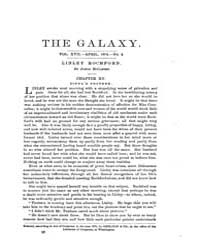 The Galaxy : Volume 0017, Issue 4 April ... by Sheldon and Company