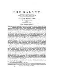The Galaxy : Volume 0017, Issue 5 May 18... by Sheldon and Company