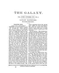 The Galaxy : Volume 0018, Issue 4 Octobe... by Sheldon and Company