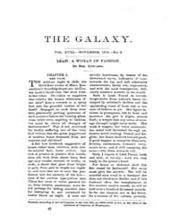 The Galaxy : Volume 0018, Issue 5 Novemb... by Sheldon and Company