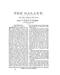 The Galaxy : Volume 0019, Issue 3 March ... by Sheldon and Company