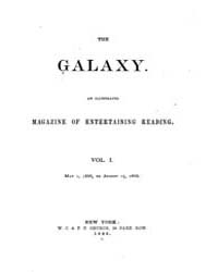 The Galaxy : Volume 0001, Issue 1 May 1,... by Sheldon and Company