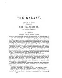 The Galaxy : Volume 0001, Issue 5 July 1... by Sheldon and Company