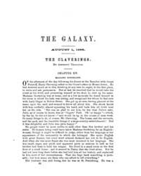 The Galaxy : Volume 0001, Issue 7 August... by Sheldon and Company