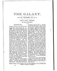 The Galaxy : Volume 0020, Issue 3 Septem... by Sheldon and Company