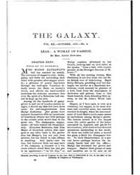 The Galaxy : Volume 0020, Issue 4 Octobe... by Sheldon and Company