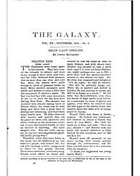 The Galaxy : Volume 0020, Issue 5 Novemb... by Sheldon and Company