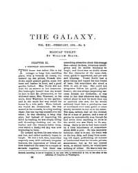 The Galaxy : Volume 0021, Issue 2 Februa... by Sheldon and Company