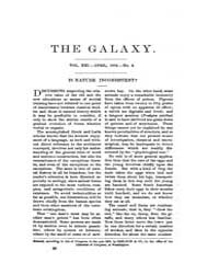 The Galaxy : Volume 0021, Issue 4 April ... by Sheldon and Company