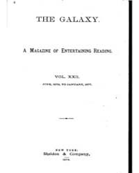The Galaxy : Volume 0022, Issue 1 July 1... by Sheldon and Company