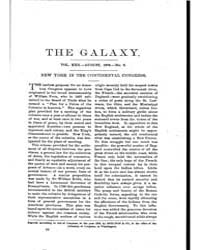 The Galaxy : Volume 0022, Issue 2 August... by Sheldon and Company