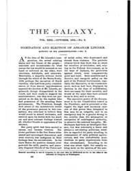 The Galaxy : Volume 0022, Issue 4 Octobe... by Sheldon and Company
