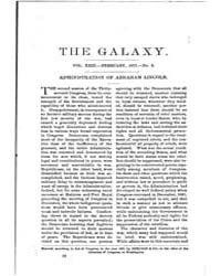 The Galaxy : Volume 0023, Issue 2 Februa... by Sheldon and Company