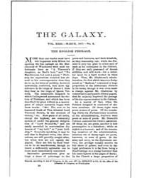 The Galaxy : Volume 0023, Issue 3 March ... by Sheldon and Company