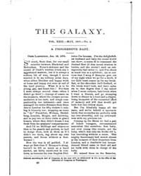 The Galaxy : Volume 0023, Issue 5 May 18... by Sheldon and Company