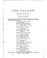 The Galaxy : Volume 0023, Issue 6 June 1... by Sheldon and Company